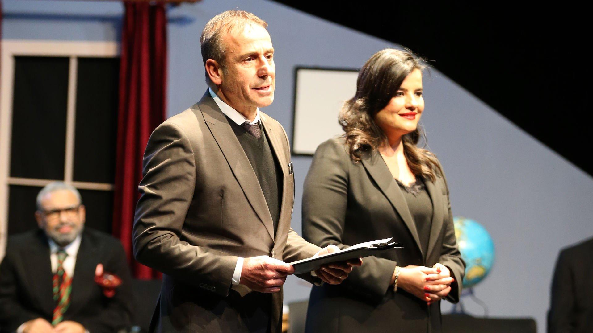 Tiyatronun 'Mahmut Hoca'sı Avcı