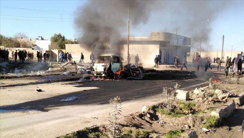 SON DAKİKA! Resulayn'da bombalı saldırı: 3'ü çocuk 5 ölü