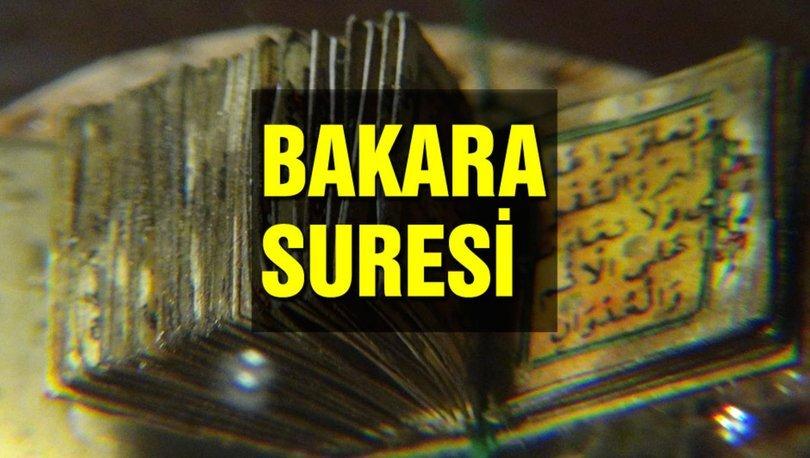Bakara suresi okunuşu ve anlamı! Bakara suresi tefsiri ve meali