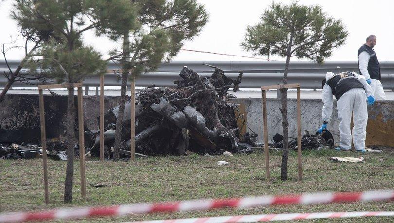 Korkunç kazada kumanda sistemi hasar alan helikopter 3 saniyede düşmüş!