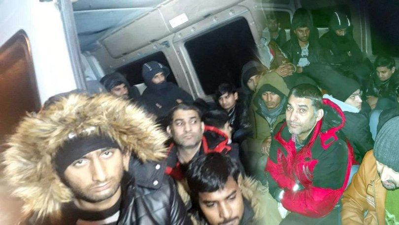 Edirne'de 30 düzensiz göçmen havasızlıktan boğulmak üzereyken kurtarıldılar