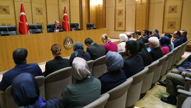 Son dakika! Cumhurbaşkanı Erdoğan'dan S-400 ve F-35 açıklaması