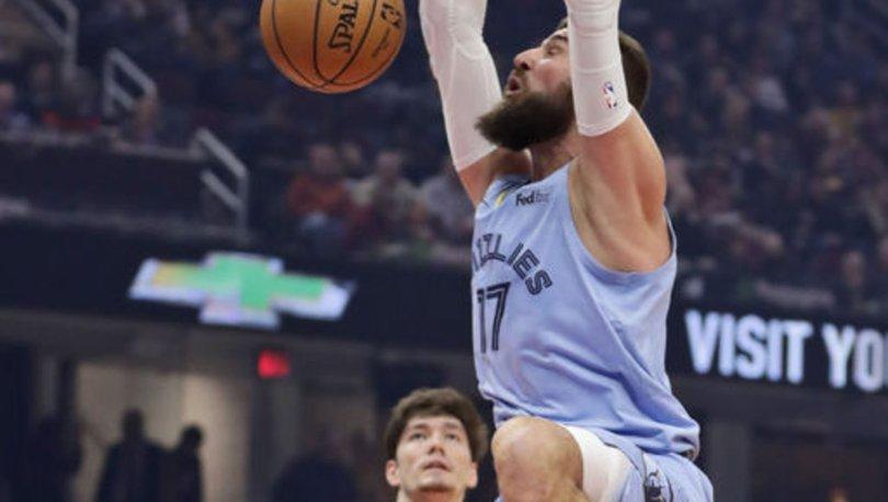NBA'de Cavaliers, Cedi'nin 13 sayılık katkısıyla Grizzlies'i yendi