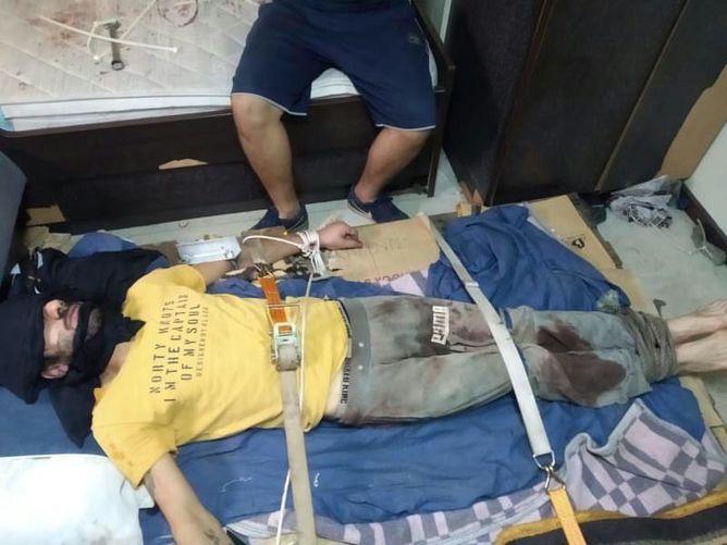 Saldırganın görüntüsü