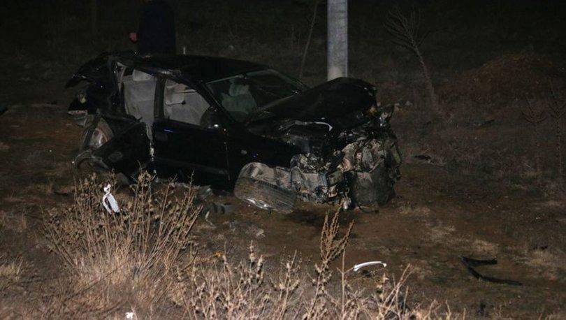Konya'da trafik kazası! 1 ölü, 2 yaralı