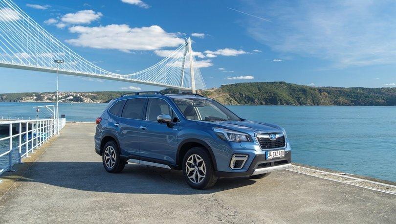 Subaru Forester hibrit motoruyla satışa sunuldu