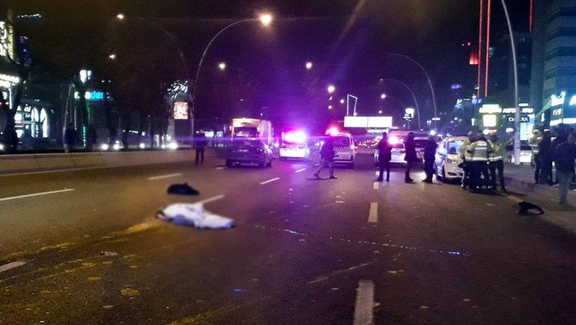 Ankara'da otomobilin çarptığı liseli hayatını kaybetti
