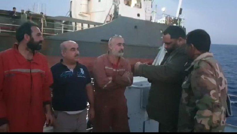 Son dakika... Libya'da Türk mürettebatın bulunduğu gemiye müdahale edildi