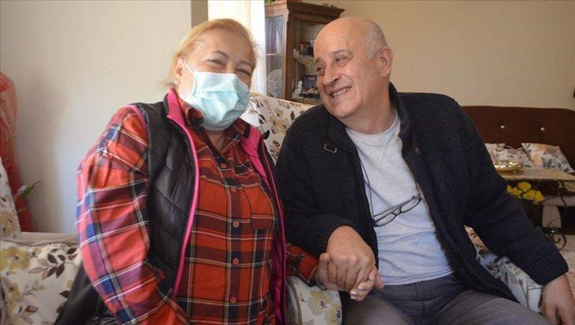 37 yıllık hayat arkadaşına böbreğini verdi