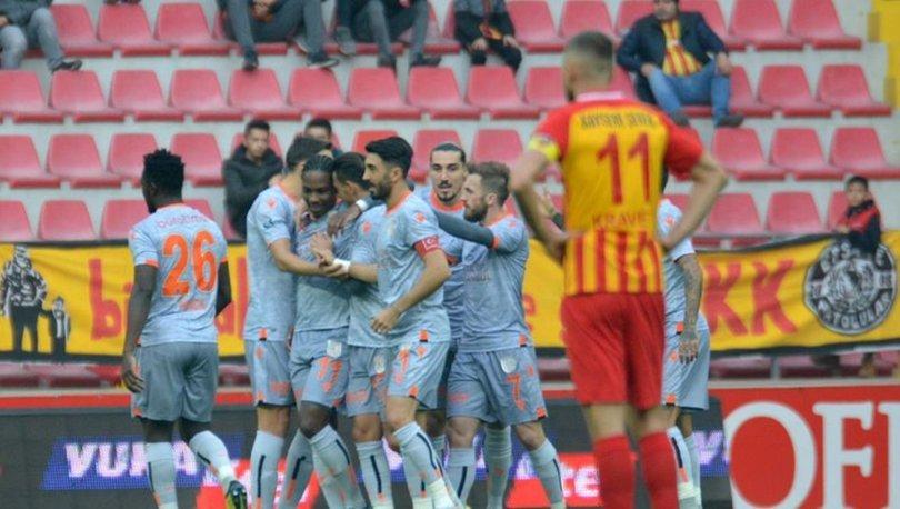 Kayserispor: 1 - Başakşehir: 4   MAÇ SONUCU