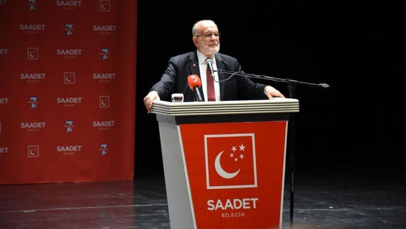 SP Genel Başkanı Temel Karamollaoğlu'ndan Kanal İstanbul açıklaması