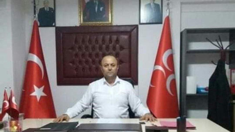 MHP'li ilçe başkanına silahlı saldırı