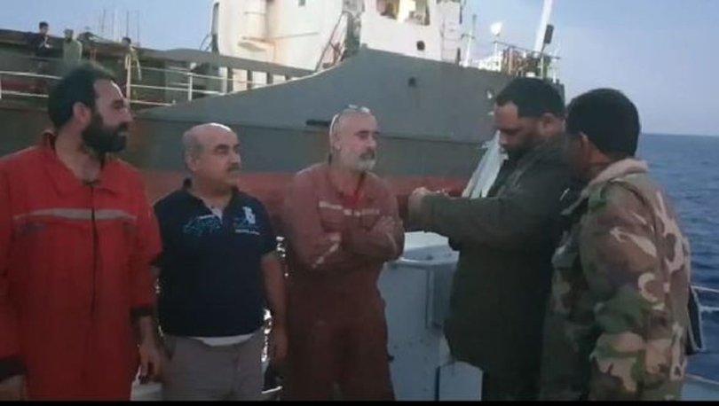 Son dakika! Libya'da Hafter güçlerinin gözaltına aldığı Türk denizciler serbest