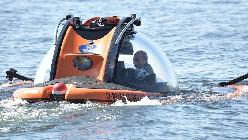 Putin'in denizaltısı mayın bölgeye dalmış