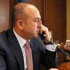 ÇAVUŞOĞLU'NDAN KRİTİK TELEFON