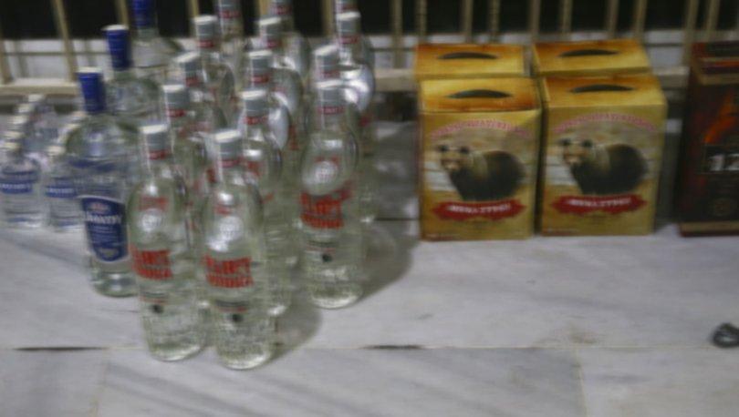 Edirne merkezli 3 ildeki kaçak içki operasyonu!