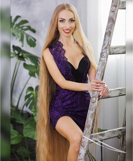Ukraynalı Rapunzel Alena Kravchenko her gün evlilik teklifi alıyor
