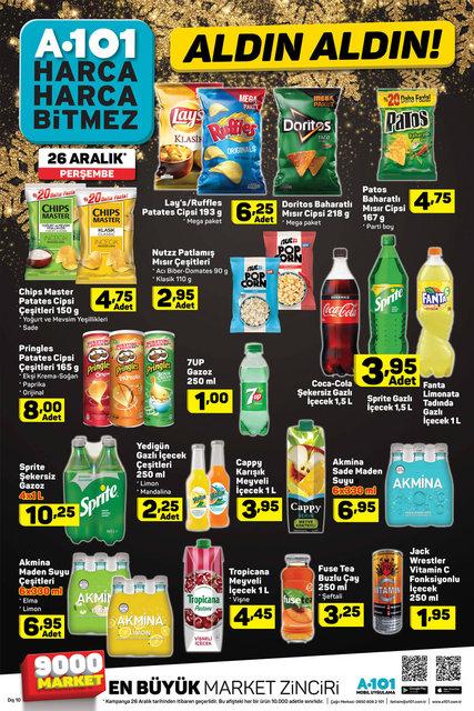 A101 26 Aralık 2019 aktüel ürünleri satışa çıkacak! İşte A101'de yer alacak kampanyalı ürünler