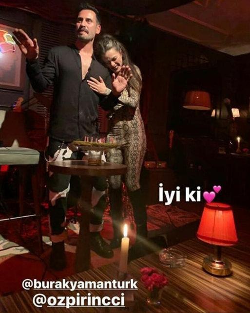 Burak Yamantürk'ün doğum günü partisinde dikkat çeken Leyla Feray-Serhat Teoman detayı! - Magazin haberleri