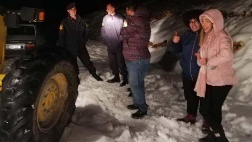 Mersin kar yağışı
