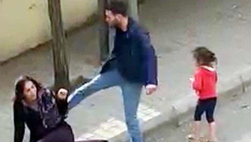 Eşini sokak ortasında döven koca için istenen ceza belli oldu