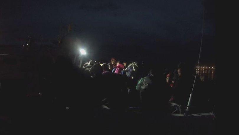 Çanakkale'de 46 kaçak göçmen yakalandı