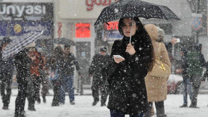 SON DAKİKA HAVA DURUMU! Meteoroloji'den son dakika kar uyarısı