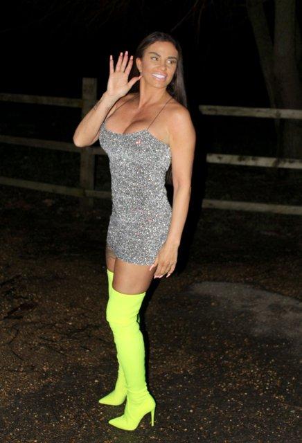 Katie Price, Londra gecelerinde - Magazin haberleri
