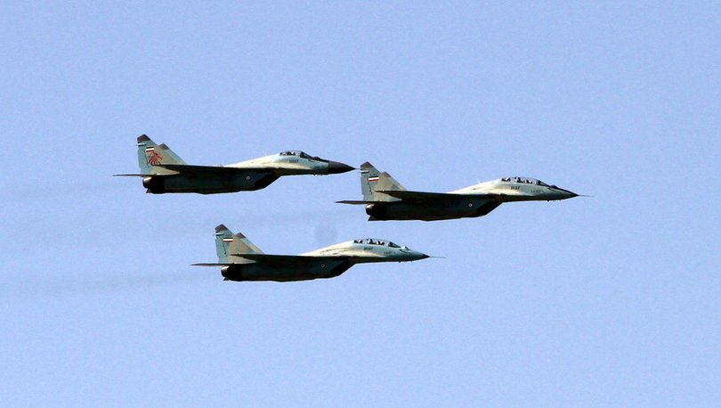 İran'da savaş uçağı düştü!