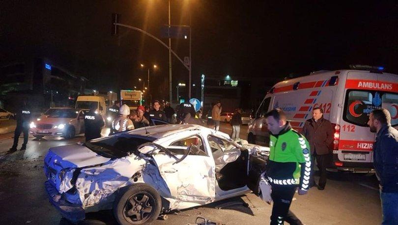 Esenyurt'ta hurdaya dönen otomobildeki Uzman Çavuş hayatını kaybetti