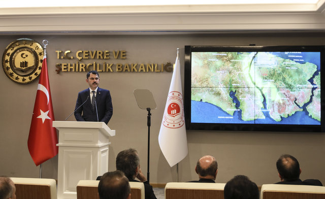 Bakan Kurum'dan Kanal İstanbul açıklaması! ÇED raporunun detayları belli oldu