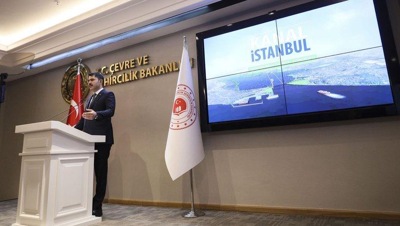 SON DAKİKA! Bakan Kurum'dan Kanal İstanbul açıklaması! Depremi tetikleyecek iddiasına yanıt