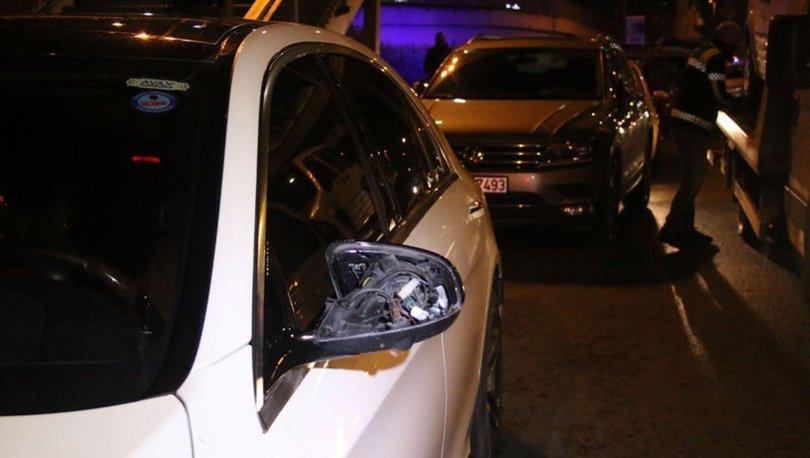 Polisi görünce yanındaki çocuğu kaza yerinde bırakıp kaçtı