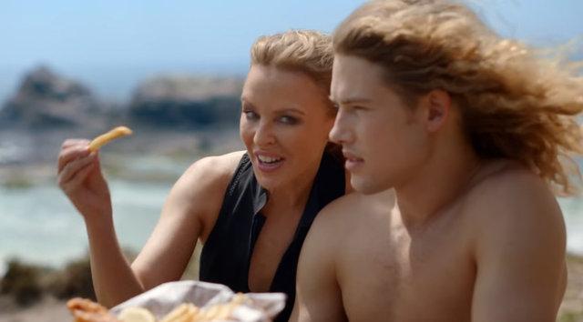 Avustralya'nın yüzü Kylie Minogue! - Magazin haberleri