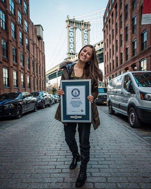 Lexie Alford 196 ülke dolaşarak Guinness rekoru kırdı!