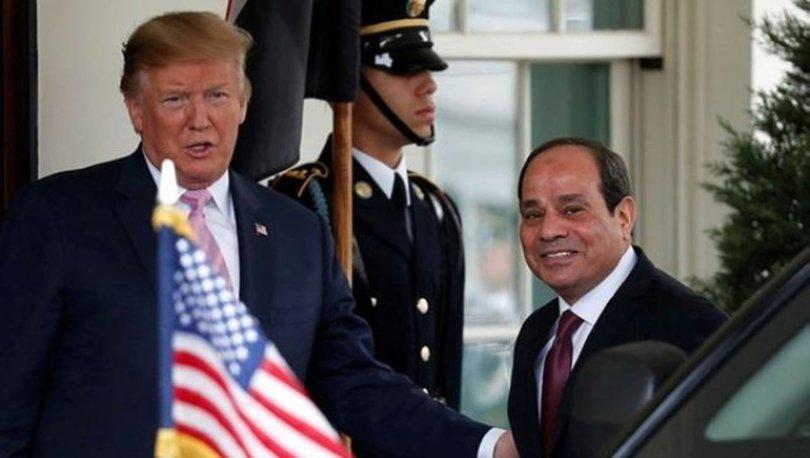 Trump ve Sisi'den Libya görüşmesi