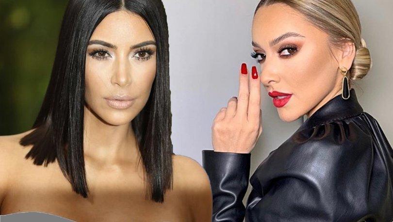 Hadise Açıkgöz, Kim Kardashian