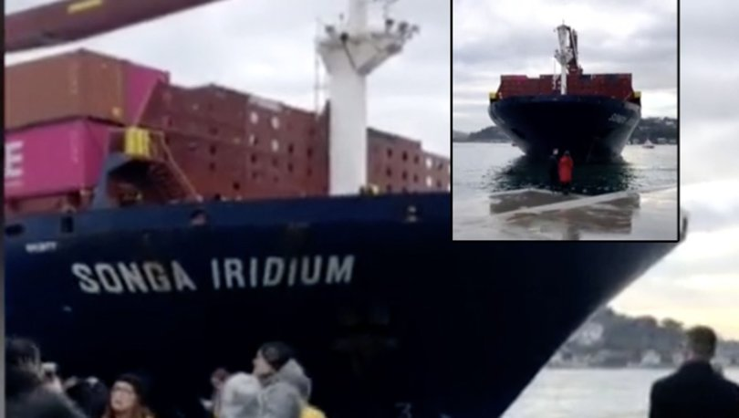 Son dakika! Boğaz'da gemi karaya oturdu!