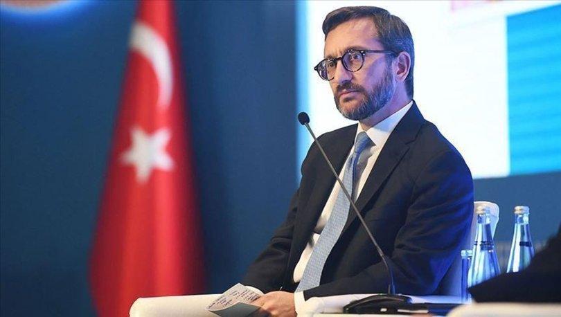 İletişim Başkanı Fahrettin Altun'dan Libya paylaşımı