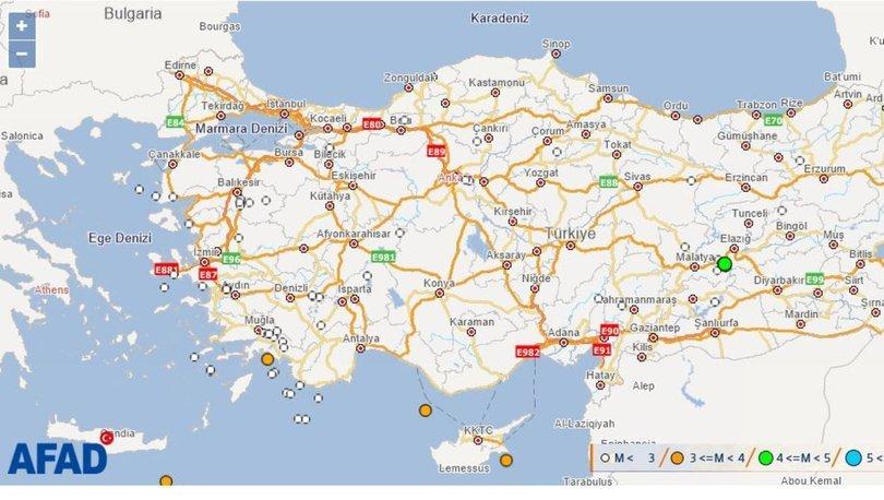 Son depremler 28 Aralık: Türkiye'de en son nerede deprem oldu? Kandilli ve AFAD açıkladı