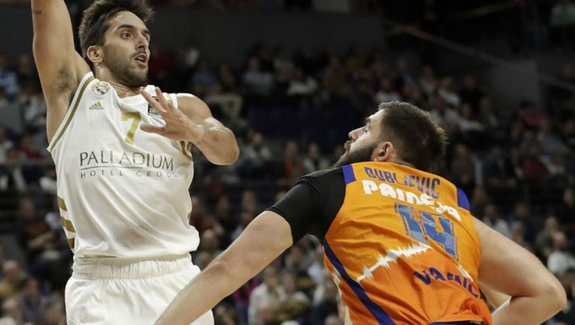 THY Avrupa Ligi'nde 16. haftanın MVP'si Valencia'dan Dubljevic