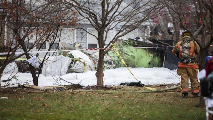ABD'de küçük uçak düştü: 5 ölü, 1 yaralı
