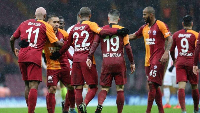 Galatasaray'da 6 günlük devre arası tatili başladı