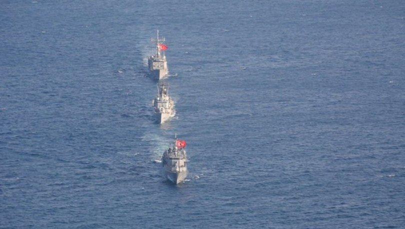 MSB: İki fırkateyn Cezayir'e gidiyor