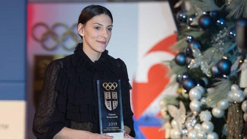 Boskovic, Sırbistan'da üst üste ikinci kez yılın kadın sporcusu
