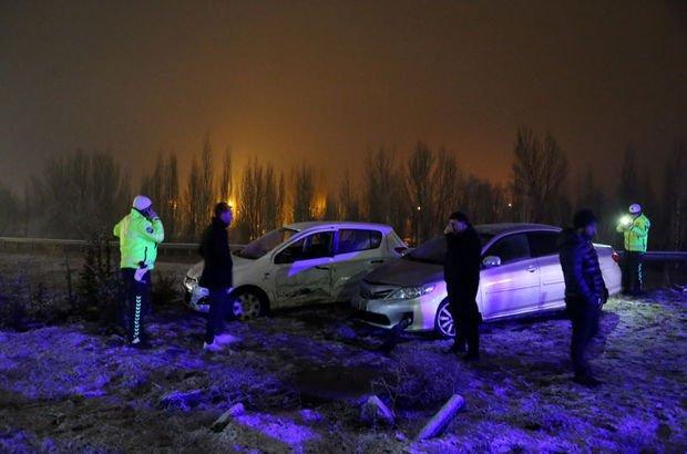 Sivas'ta trafik kazası! 5 yaralı