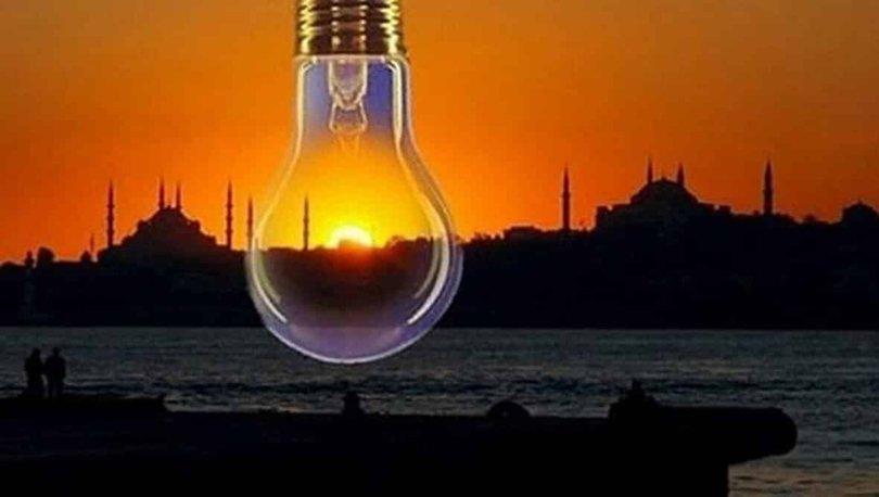 İstanbul 30 Aralık elektrik kesintileri güncel liste