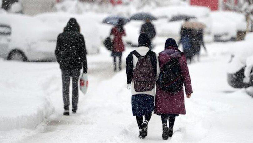 Bugün okullar tatil mi? 30 Aralık Pazartesi hangi illerde okullar tatil? 30 Aralık hava durumu