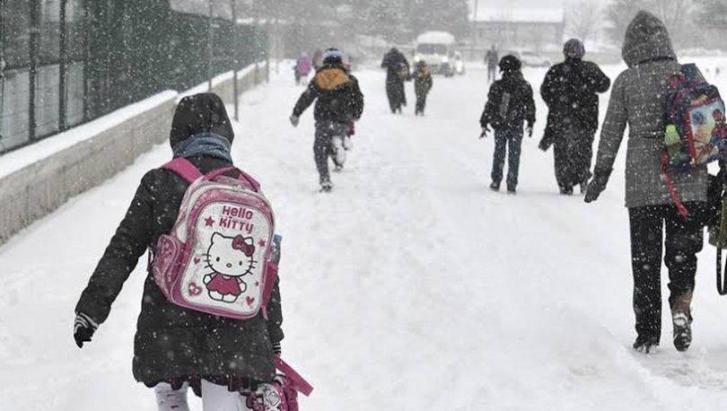 Antalya'da bugün okullar tatil mi? 30 Aralık Kaymakamlık'tan kar tatili açıklaması