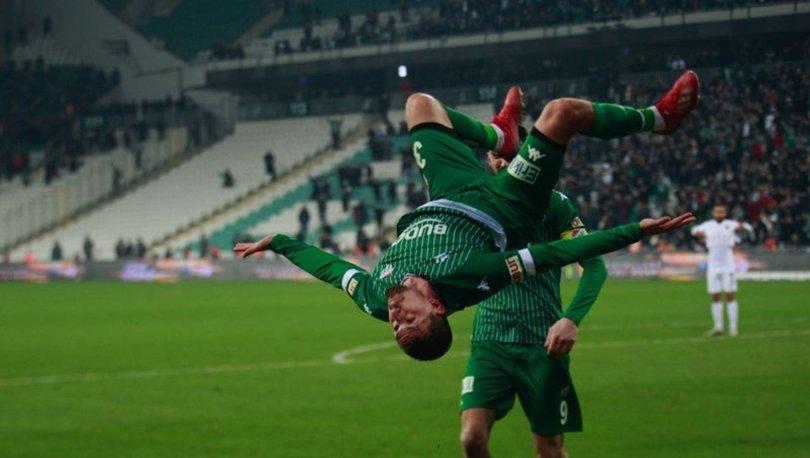 Bursaspor, son anlarda hayat buluyor